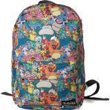 Ryggsäckar Pokémon All-Over Characters Print Backpack - Multicolour