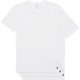 T-Shirts Herrkläder Polo Ralph Lauren Crew Neck T-shirt 3-pack - White