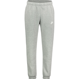 Nike Club Fleece Pants Men - Dark Gray Heather/Matte Silver/White