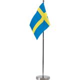 Hisab Joker Table Decoration Sweden Table Flag Blue/Yellow