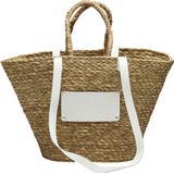 Väskor Núnoo Large Beach Bag - Nature/White