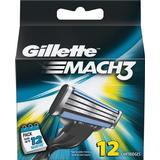 Rakblad & Rakbladskassetter Gillette Mach3 12-pack