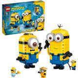 Byggleksaker på rea Lego Minions Brick Built Minions & their Lair 75551