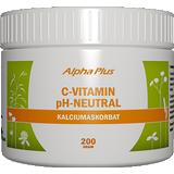 Vitaminer & Mineraler Alpha Plus C-Vitamin pH-Neutral 200g