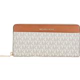 Michael Kors Jet Set Pocket Continental Wallet - Vanilla