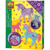 Pärlor SES Creative Beedz Iron on Beads Fantasy Horses 1200pcs 06115