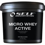 Self omninutrition micro whey active 1kg Kosttillskott Self Omninutrition Micro Whey Active Vanilla 1kg