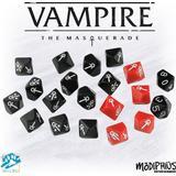 Tärningar Sällskapsspel Vampire: The Masquerade Dice Set