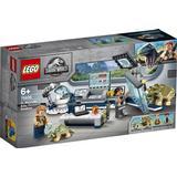 Byggleksaker på rea Lego Jurassic Park Dr. Wu's Lab: Baby Dinosaurs Breakout 75939