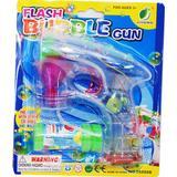 Såpbubbelpistol Leksaker Flash Soap Bubble Gun