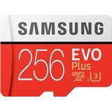 Minneskort & USB-minnen Samsung Evo Plus 2020 microSDXC MC256HA Class 10 UHS-I U3 256GB
