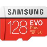 Minneskort & USB-minnen Samsung Evo Plus 2020 microSDXC MC128HA Class 10 UHS-I U3 128GB