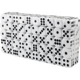 Tärningar Sällskapsspel Hexagonal Dice 100pcs