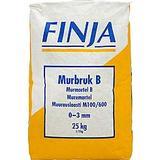 Murbruk b Mark-, Murstenar & Bruk Finja B 0-3 002805594 25kg