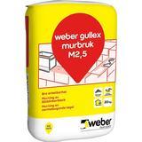 Murbruk b Mark-, Murstenar & Bruk Weber Gullex B M 2.5 502080984 20kg