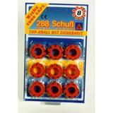 Tillbehör Maskerad Wicke Euro Caps 8-Shots 36-pack