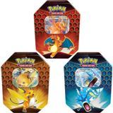 Pokémon Hidden Fates Tin Charizard Gyarados Raichu