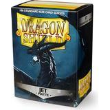 Sällskapsspel Dragon Shield Matte Jet 100 Standard Size