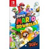 Nintendo Switch-spel Super Mario 3D World + Bowser's Fury
