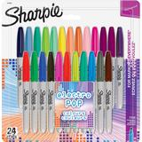 Markers Sharpie Electro Pop Permanent Markers 24 Pack