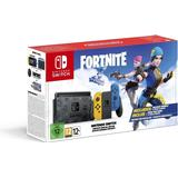 Spelkonsoler Nintendo Switch - Yellow/Blue - 2020 - Fortnite Special Edition