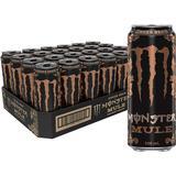 Mule monster Kosttillskott Monster Energy Mule Ginger Brew 500ml 24 st