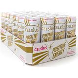 Drycker Celsius Positive Energy Strawberry Marshmallow 355ml 24 st