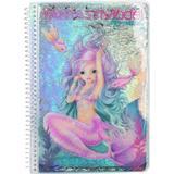 Klistermärken Top Model Fantasy Model Design Book Mermaid