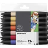 Markers Winsor & Newton Promarker Manga 12-pack Set 1