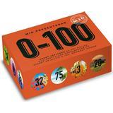 Frågesporter Sällskapsspel 0-100 Orange