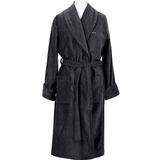 Gant Premium Velour Robe Unisex - Antracite