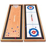 Barnspel SportMe Shuffleboard 3 in 1
