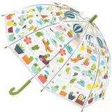 Paraplyer Djeco Froglets Umbrella - Transparent