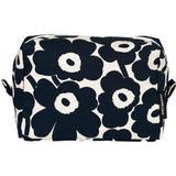 Necessärer & Sminkväskor Marimekko Vilja Mini Unikko Cosmetic Bag - Dark Blue