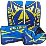 SportMe Goalkeeper Set Street Hockey Sweden Jr Målvaktsbenskydd, Handskar