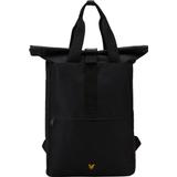 Väskor Lyle & Scott Roll Top Backpack - Black