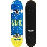 """Blå Kompletta skateboards Story Genetic 7.5"""""""