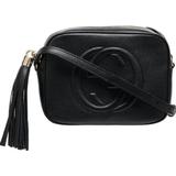 Handväskor Gucci Soho Small Leather Disco Bag - Black