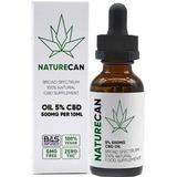 Naturecan Broad Spectrum Natural 5% CBD Oil 500mg 10ml