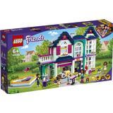 Lego Friends Andreas' Family Villa 41449