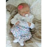 Arias Reborn Baby Doll Girl 43cm