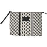 Väskor Lala Berlin Cosmetic Bag Pili - Kufiya Off-White/Black