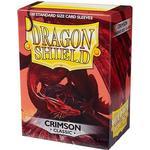 Dragon Shield Classic Crimson 100 Sleeves