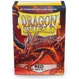 Sällskapsspel Dragon Shield Red Matte 100 Sleeves