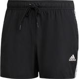 Adidas 3-Stripes CLX Swim Shorts - Black