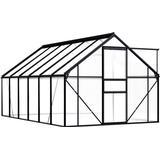 vidaXL Greenhouse 7.03m² Aluminium Polycarbonate