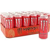 Monster energy Kosttillskott Monster Energy Ultra Red 500ml 24 st