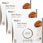 Nupo Diet Shake Caffe Latte 1344g