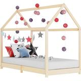 Hussäng 90x200 Barnrum vidaXL Kid's Bed Frame Solid Pine Wood 90x200cm