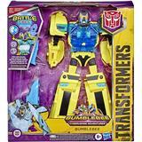 Transformers Figurer Hasbro Transformers Bumblebee Cyberverse Adventures Battle Call Officer Class Bumblebee